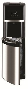 Primo 900135 Hot & Cold Bottled Water Dispenser With Brushed Chrome Accents