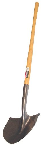 Seymour SV-LR90 42-Inch Wood Handle Professional Round Point Shovel