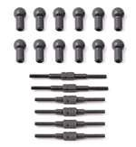 Team Associated 21052 18T Turnbuckle Set Steel with Ballcups