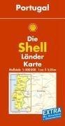 Shell Länderkarte Portugal. 1 : 500 000. Mit
