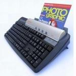 21bqkb1EBFL. SL500  KeyScan Keyboard Scanner with ID Card Feed   Black (KS810P)
