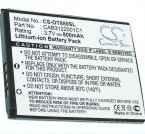 Battery for Alcatel OT-710D OT-807 OT-880 OT-880A CAB3120000C1 3.7V 800mAh