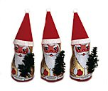 Riegelein Chocolate Santa 4-pack in Gift Pack