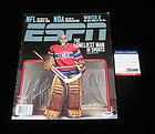 Carey Price Signed ESPN Magazine 1/26/09 Canadiens Auto - PSA/DNA Certified - Autographed NHL Magazines