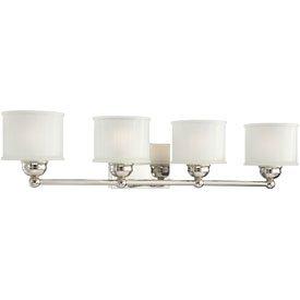 Vanity Light Rough In Height : Minka Lavery 6734-1-613, 1730 Series Reversible Wall Vanity Lighting, 4LT, 400w, Polished Nickel ...