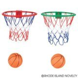 Small Basketball and Hoop for Over Door or Wall mount. - 1