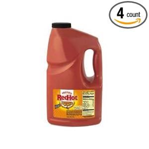 Amazon.com : Frank's Red Hot Buffalo Wing Sauce 4/1 Gallon