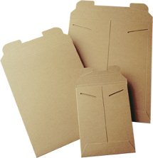 Mailers Direct Heavy Duty Kraft Traditional Tab Lock Envelope Mailers - 12.75 x 15 Inches - 100 Per Box - 4K-100