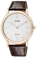 Citizen Eco-Drive Analog White Dial Mens Watch AR1113-12A