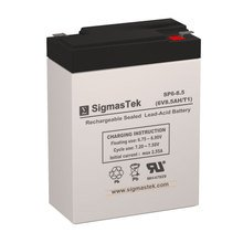 Sigmastek Sp6-8.5 Battery, Sp6-8.5, Spill Proof & Long Lasting Superior Long Life Oem Battery And The Best Price On The Market Ideal For Ups Units, Security Alarm Systems, Electric Scooters, Mobility Chairs, Solar Panel, Emergency Lighting And Many Other