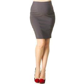 Rosie Pope Maternity Pret Skirt Classic Steel MED