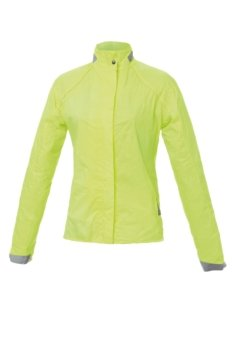 Tucano urbano 763YF4 nANO lADY bULLET-super compact, fully waterproof women's long et respirant en fluorescent/jaune-taille m