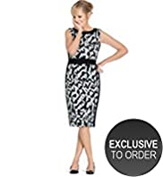 Twiggy for M&S Woman Abstract Print Dress