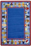 "Joy Carpets Kid Essentials Early Childhood Children of Many Cultures Rug, Multicolored, 10'9"" x 13'2"""