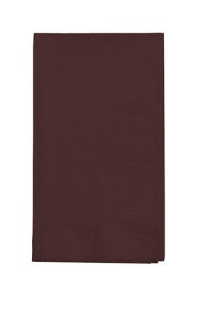 50 gorgeous Chocolate Brown Dinner Napkins for Wedding, Party, Bridal or Baby Shower, Disposable Bulk Supply Quality! (Chocolate Brown Napkins compare prices)