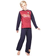 Pure Cotton Barcelona Football Club Pyjamas