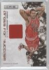 James Johnson #237/299 Chicago Bulls (Basketball Card) 2009-10 Panini Rookies & Stars Dress For Success Materials #15