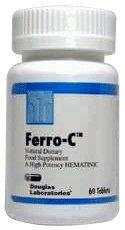 Ferro-C 60 Tablets by Douglas Labs