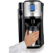 Hamilton Beach Brewstation 12-Cup Dispensing Coffeemaker, 49150, Black