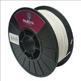 MeltInk3d White 2.85mm PLA 3D Printer Filament 1Kg from MeltInk3d
