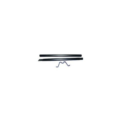 Vigor Blinky 27293-10 Paletto in Ferro Verniciato, per Cassetta America, Altezza 152 cm, Nero
