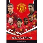 Manchester United FC - Official Team Calendar 2013, Ships from USA