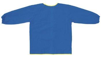 8 Pack CHENILLE KRAFT COMPANY LONG SLEEVE ART SMOCK BLUE