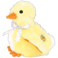 TY Beanie Baby - PEEPERS the Chick (BBOM March 2004)