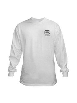 New Glock Apparel XL White Long Sleeve T-Shirt AP61604 High Quality Modern Design Beautiful Popular