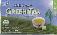 100% Organic Green Tea, 100 Bags, Usda Verified