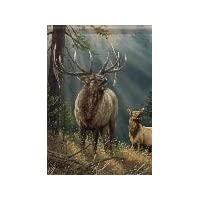 Grand Elk - Flag Trends by Carson & Rosemary Millette Flag 13