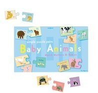 Cheap Fun Eeboo Baby Animals Puzzle Pairs (B000ELORQI)