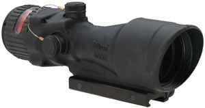 Acog 6 X 48 Machine Gun Optic Dual Illuminated Chevron .223 Ballistic Reticle, Red