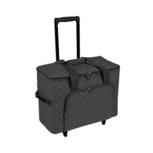 Hemline Sewing Machine Trolley In Black by Hemline