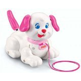 Fisher Price Lil' Snoopy Pink Dog Pull Puppy - 1