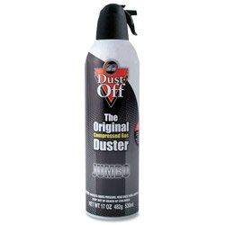Falcon Compressed Gas (152a) Jumbo Disposable Cleaning Duster 1 Count, 17oz. Can (DPSJMB)