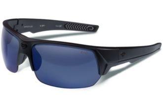 Buy Gargoyles Recoil Sunglasses Gray Crystal Smoke Blue Mirror Polarized by Gargoyles