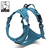 PetsUp Imported Ultra Premium Soft, Front Range No-Pull Dog Harness Easy Walk Dog Travel Pet Vest With Handle...