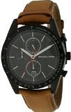 Jacob Time MK8385 Michael Kors Accelerator Leather Chronograph Mens Watch