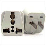 VCT VP105 Universal to American Travel Outlet Plug Adapter for 2-Pin USA