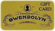 Restaurant Gwendolyn Gift Card ($125)