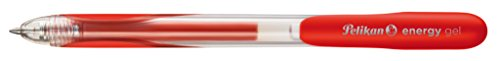 Pelikan 921544 - bolígrafo de gel (Ampolla) Negro, Azul, Rojo, Transparente