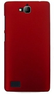 WOW Imagine Rubberised Matte Hard Case Back Cover For Huawei Honor Holly (Maroon Wine Red)  available at amazon for Rs.129