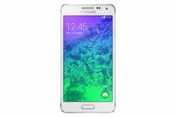 Samsung G850F Galaxy Alpha UK 4G SIM-Free Smartphone - Dazzling White