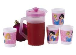 Tupperware Disney Princess Miniature Pitcher and Tumblers Set