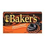 Baker's Baking Chocolate Squares - Unsweetened 8 oz.
