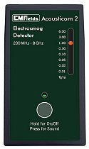 Acoustimeter Acousticom 2 Rf Meter Radio Frequency Meter - Customer Return - Mint Condition - Great Low Price! Affordable, Small, Accurate, High Quality Rf Detector - Protect Yourself From Emf