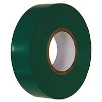 (100 Pack) Premium Grade Green Electrical Tape Value Pack