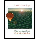 Fundamentals of Cost Accounting by Maher,Michael W; Lanen,William N.; Rajan,Madhav V.. [2004] Hardcover