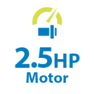 2.5HP Motor